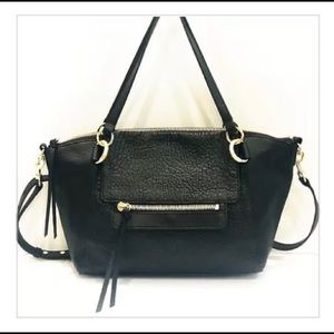 🌺Vince Camuto Raya Leather Satchel Crossbody Bag